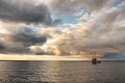 Обследование морского дна в Северном море в Великобритании - крупнейшее в истории CGG - частично финансируется супермагистральным BP (Файл фото: BP)