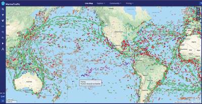 المصدر: MarineTraffic.com