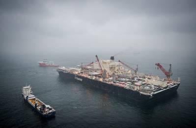 توضيح؛ الأنابيب المتنافسة: خط أنابيب Nord Stream قيد التنفيذ / صورة بواسطة Axel Schmidt ، Nord Stream