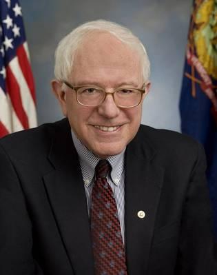 バーニー・サンダース上院議員。クレジット:米国上院のウェブサイト。