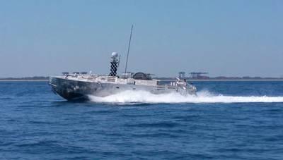 一般的な無人飛行船(CUSV)(写真:テクトロン)