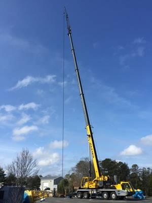 拉伸软管应力测试:将100英尺软管拉伸至200英尺(照片:EOM Offshore)