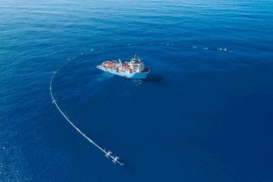 (Foto: The Ocean Cleanup)