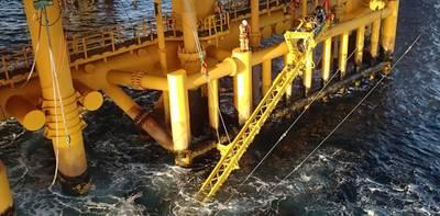 Grauzonen: Splashzone-Operationen mit dem OceanTech VAT CREDIT: OceanTech