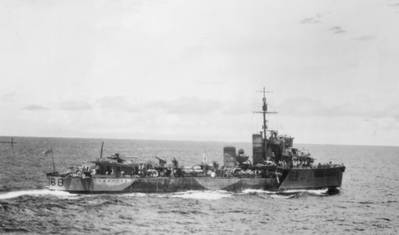 HMAS Vampiro (© Commonwealth of Australia 2018)