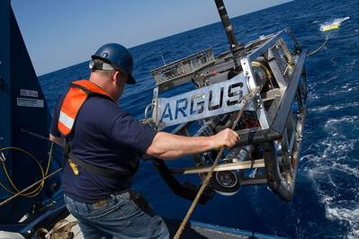 Imagem cortesia do Ocean Exploration Trust / Nautilus Live