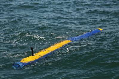 Minen Gegenmaßnahme Messerfish UUV (Foto: General Dynamics Mission Systems)