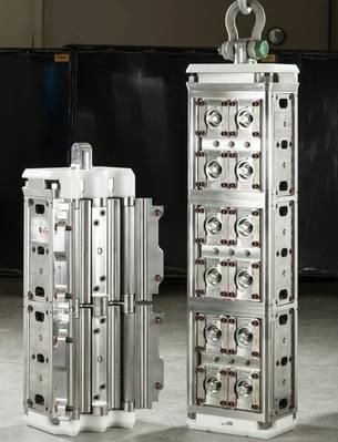 Novos grampos projetados e produzidos para o TechnipFMC (Foto: RED Engineering)