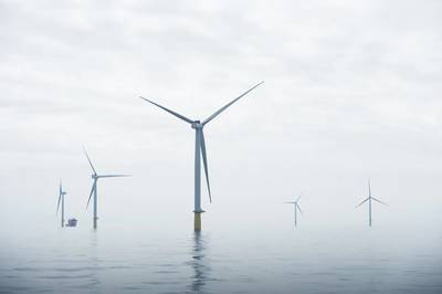 Parque eólico marino de Dudgeon (Foto: Ole Jørgen Bratland / Statoil)