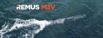 REMUS M3V (الصورة: Hydroid Inc.)