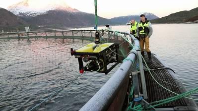 SINTEF Ocean realizó pruebas en sus instalaciones en Trondheim, Noruega. Imagen del océano SINTEF.