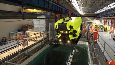 Saipem Hydrone R - во плоти и готов к испытаниям в реальном мире. Изображение из Сайпема.