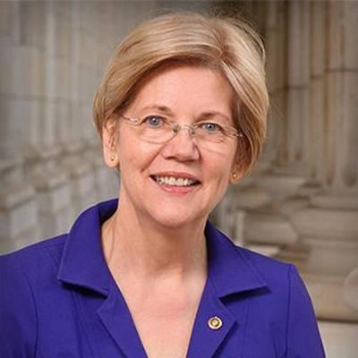 Senadora dos EUA Elizabeth Warren. Crédito: Site do Senado dos EUA.