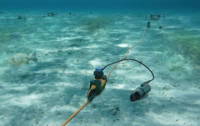 Sistema de zona de transición Sercel 508XT para zonas pantanosas y profundidades de agua de hasta 25 m (imagen cortesía de Sercel)