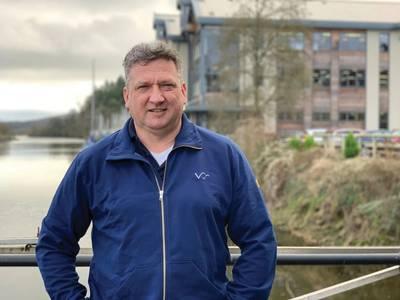 Valeport Ltd.のマネージングディレクター、Matt Quartley