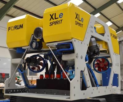 XLe Spirit(照片:Forum Subsea Technologies)