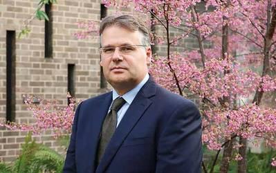 El presidente de Ocean Energy Systems, Henry Jeffrey.