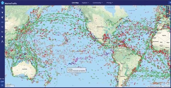 Πηγή: MarineTraffic.com