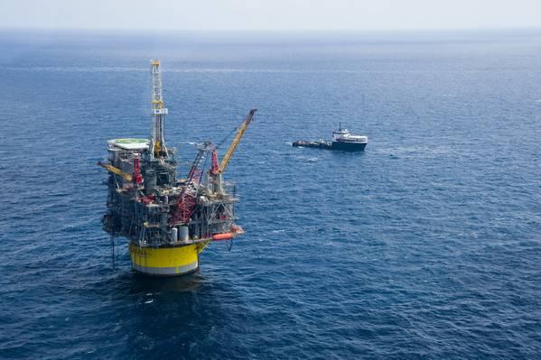 Πύργος παραγωγής Perdido στον Κόλπο του Μεξικού (Φωτογραφία: Shell)