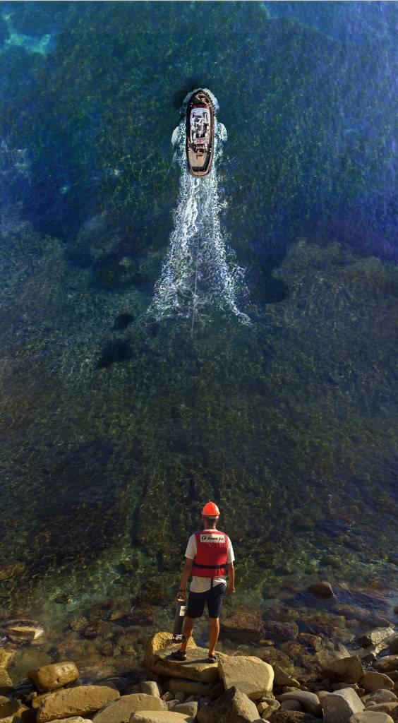 Победившая фотография с конкурса 2017 года от Teledyne Marine (Фото Ана Пииро Минаны)