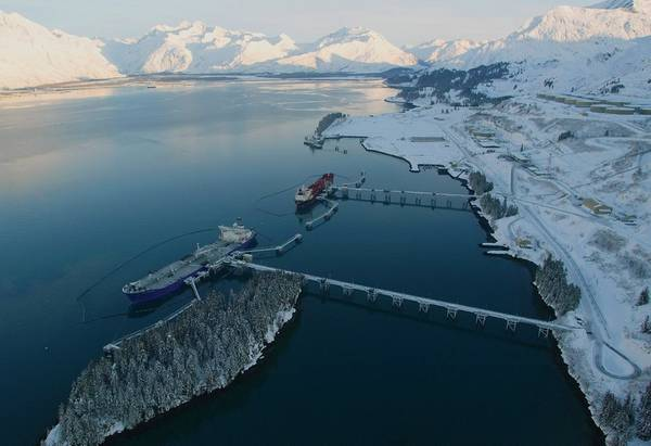 Полярное приключение-valdez alaska Фото любезно предоставлено ConocoPhillips