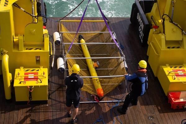 الصورة مجاملة من VLIZ Marine Robotics Center