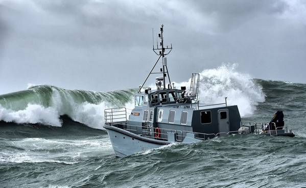 سفينة المسح الهيدروغرافية الجديدة للبحرية الملكية HMS Magpie (تصوير: البحرية الملكية)
