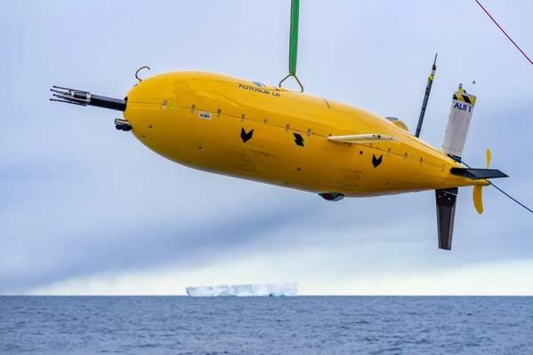 स्वायत्त पानी के नीचे के वाहन Boaty McBoatface (फोटो: एनओसी)