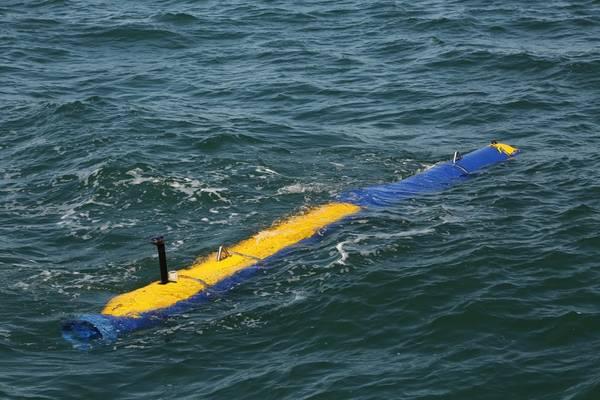 刀鱼对抗UUV(照片:通用动力任务系统)