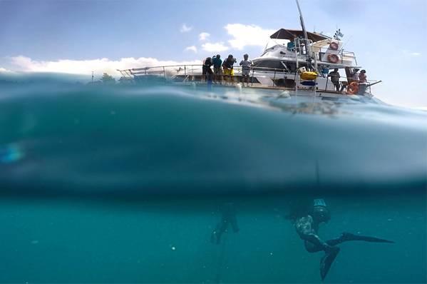 照片由加州大学圣地亚哥分校斯克里普斯海洋考古中心提供
