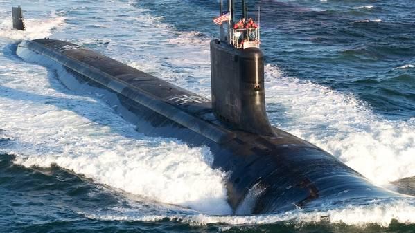 米海軍の公式ファイル写真。