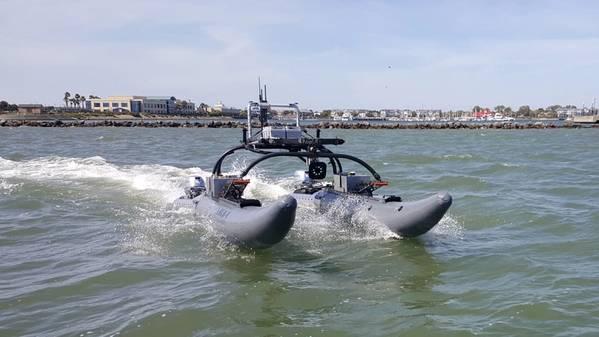 (فوتو لبحر متقدم للبحوث البحرية)