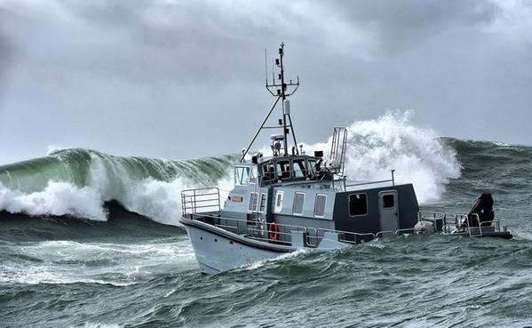 Das neue hydrographische Vermessungsschiff der Royal Navy HMS Magpie (Foto: Royal Navy)