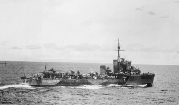 HMAS Vampiro (© Commonwealth of Australia 2018)