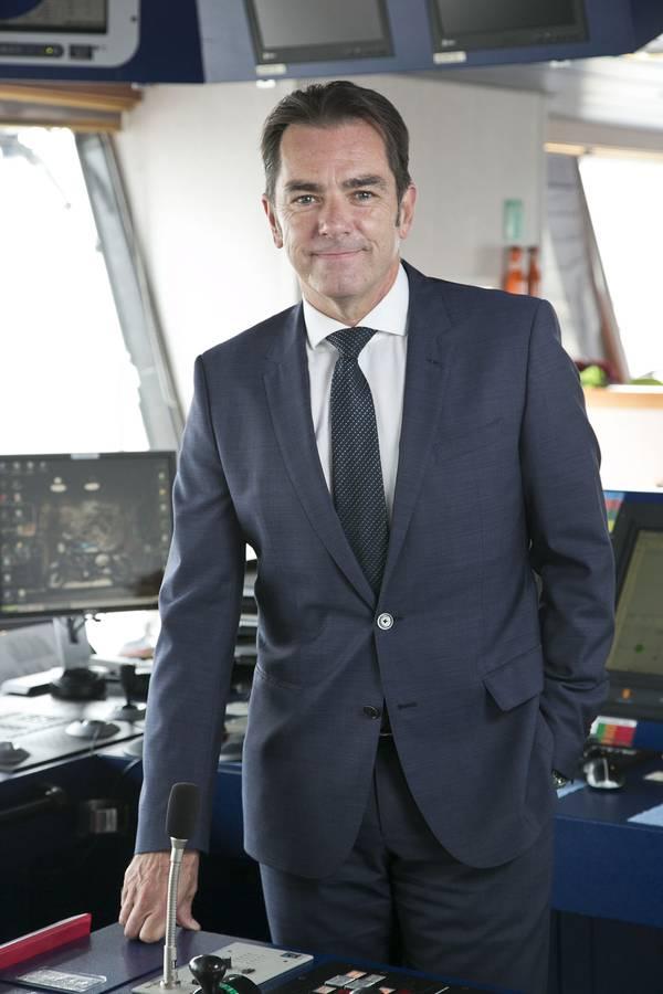 Howard Woodcock, διευθύνων σύμβουλος της Bibby Offshore. (Φωτογραφία: Offshore Bibby)