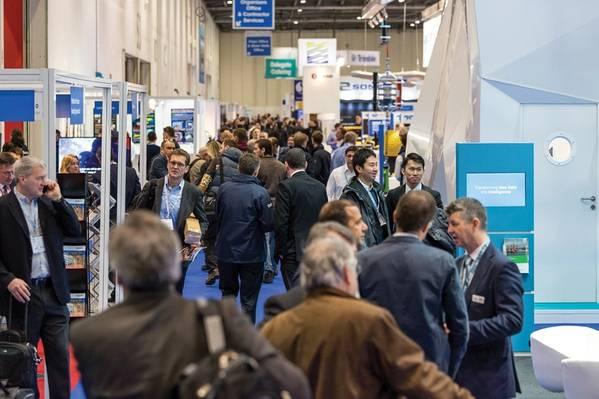 Oceanology International 2018 en Londres, una vez más, demostró ser el evento de la industria submarina más prolífico del mundo. Imagen: Oi