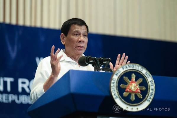 Rodrigo Duterte (Foto: RUJI ABAT / FOTO PRESIDENCIAL)