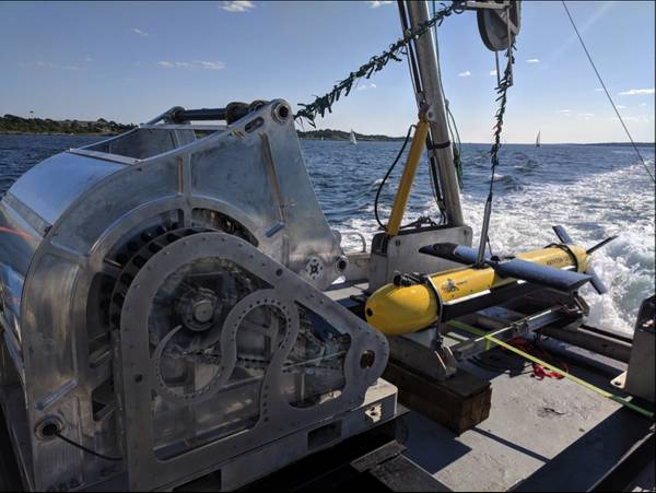 SeaScout Экспедиционная система картографирования и разведки морского дна, развернутая во время ANTX2018 (Фото: Kraken Robotics Inc.)