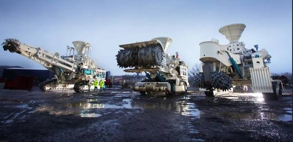 Solwara 1 проект добычи морского дна. Предоставлено Nautilus Minerals.