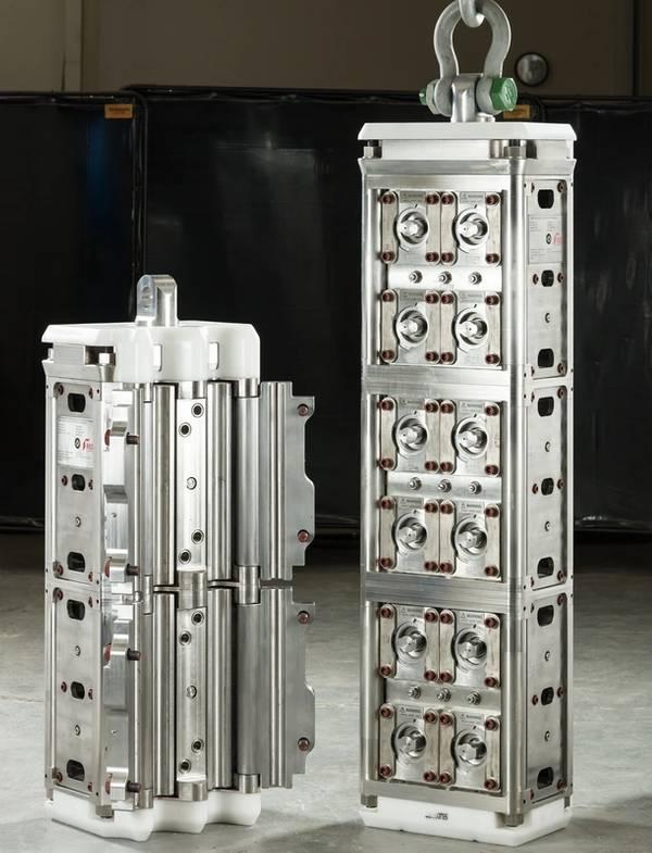 TechnipFMC用に設計され生産された新しいクランプ(写真:RED Engineering)