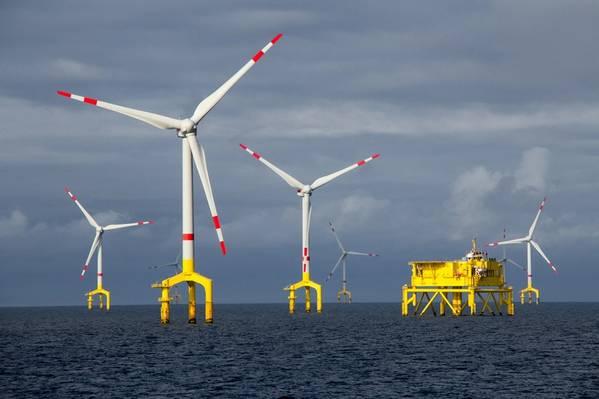 Um leilão do governo norte-americano para três arrendamentos de energia eólica ao largo da costa de Massachusetts terminou na sexta-feira com lances recorde de mais de US $ 400 milhões dos gigantes europeus da energia, incluindo Royal Dutch Shell e Equinor. Foto: © benoitgrasser / AdobeStock