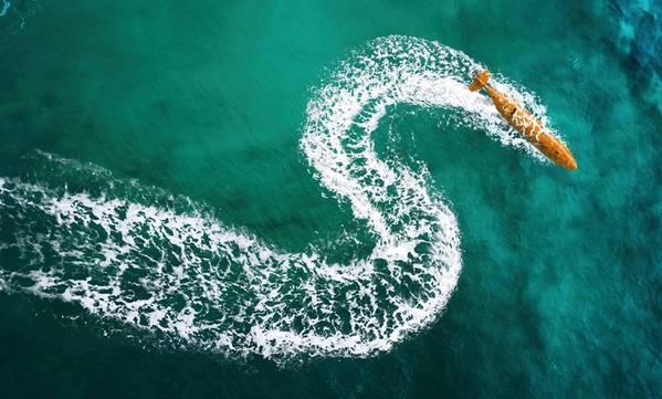 O mais recente Kongsberg AUV, o HUGIN Superior é o mais avançado, com recursos de dados, posicionamento e resistência significativamente aprimorados. Foto: Kongsberg