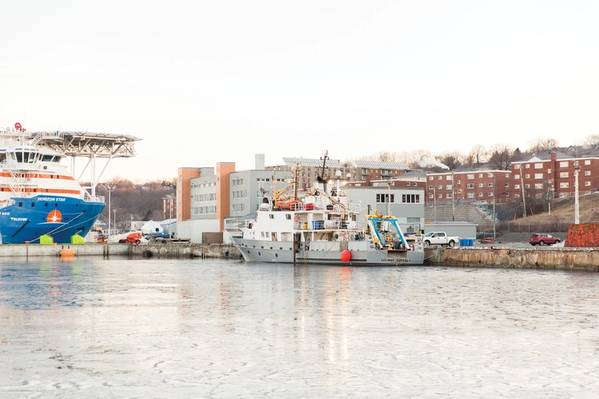 Η Οδύσσεια του LeeWay στο COVE στο Dartmouth της Νέας Σκωτίας.