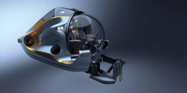 Φωτογραφία ευγενική προσφορά της SEAmagine Hydrospace Corporation