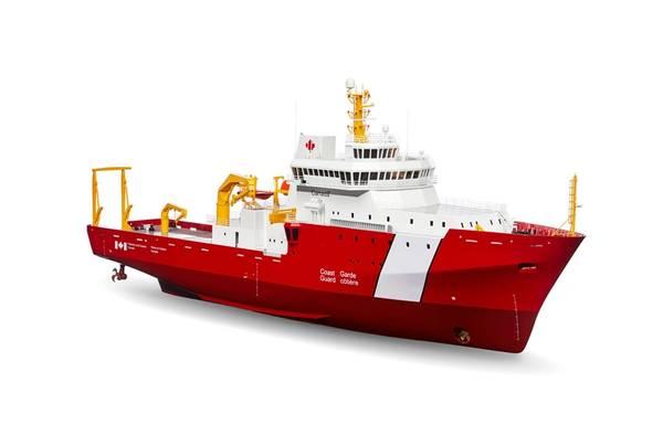الصورة: Seaspan أحواض بناء السفن