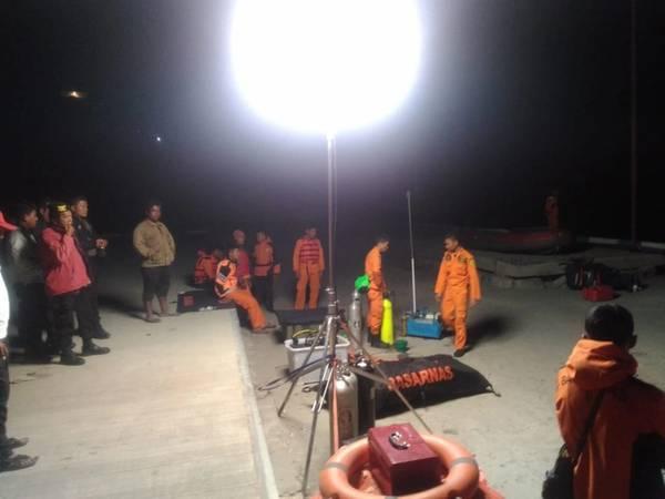 (图片:印度尼西亚共和国国家搜救局)