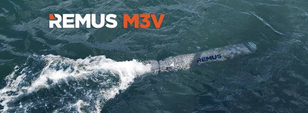 REMUS M3V (Φωτογραφία: Hydroid Inc.)
