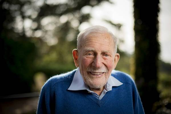 Walter Munk, 2017 (Φωτογραφία: Erik Jepsen / UC San Diego)
