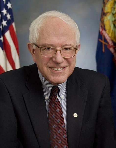 El senador estadounidense Bernie Sanders. Crédito: sitio web del Senado de los Estados Unidos.