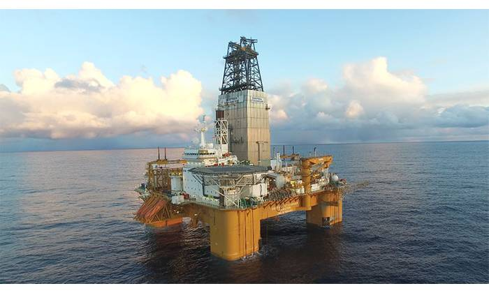 Aker BP recently awarded a contract worth up to $68 million to Odfjell Drilling for the lease of the semi-submersible drilling rig Deepsea Stavanger in the Norwegian Sea and the Barnts Sea (Photo: Aker BP)